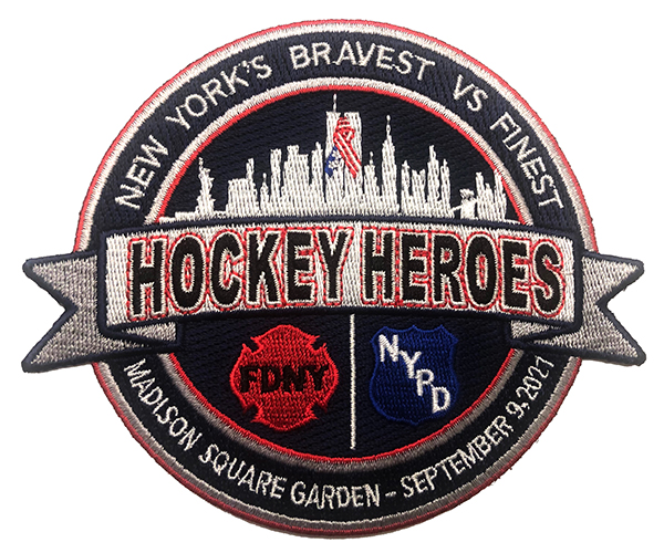 """4"""" Hockey Heroes Patch"""