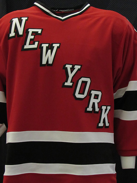 20th Anniversary of 9/11 Commemorative FDNY Hockey Team - Red Replica Hockey Jersey #20 On Back - Youth Sizes