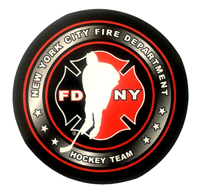 "Official FDNY Hockey Team 1.5"" Sticker"