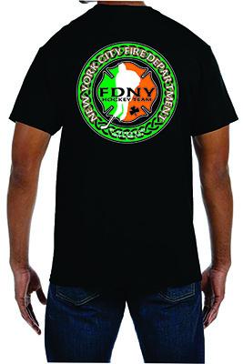 Irish Men's Short Sleeve T-Shirt Black - Triblend