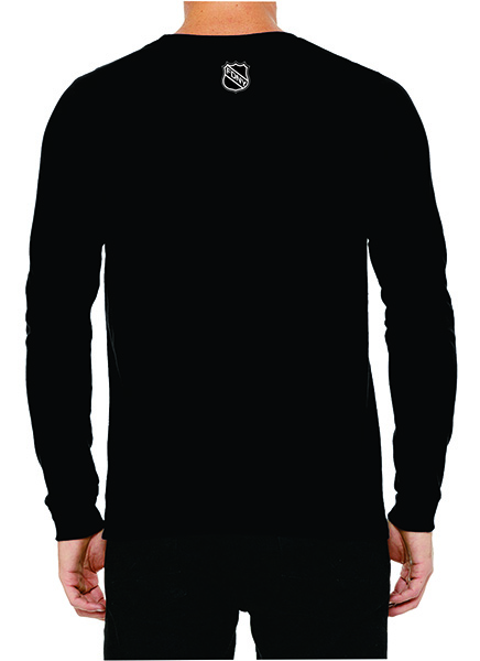 FDNY Hockey Team Logo Long Sleeve T-Shirt - Black