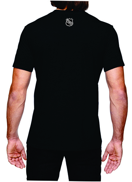 FDNY Hockey Team Logo Short Sleeve T-Shirt - Black