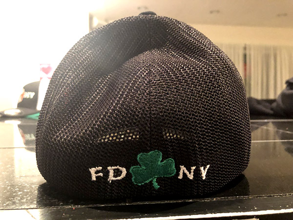 Irish Black Flexfit Trucker Hat