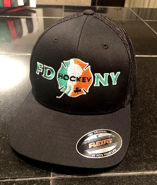 Irish Black Flexfit Trucker Hat