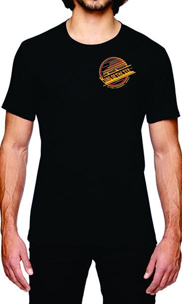 King of the Ice 2019 Black Tri-blend T-Shirt