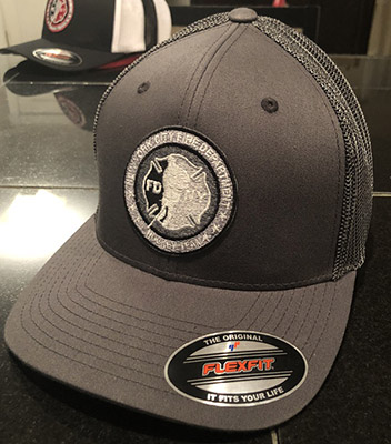 Hockey GRAY Flexfit Trucker hat