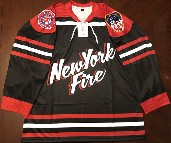 Official FDNY Hockey Sublimated Jersey