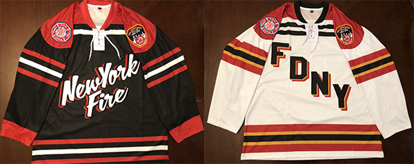 Official FDNY Hockey Tackle Twill Jersey